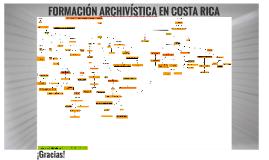 Formación Archivística en Costa Rica