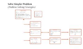 Solve a simpler problem