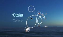 Otaku Subculture