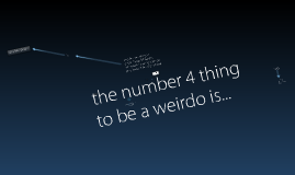 10 steps on how to be a weirdo
