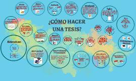 Copy of Copy of ¿CÓMO HACER UNA TESIS?