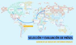 Selección y Evaluación de Países