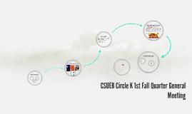 2019 CSUEB Fall Info Night