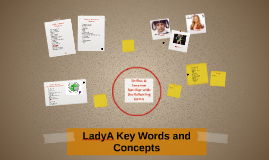 LadyA Key Words and Concepts