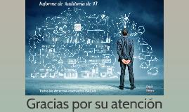 Copy of Informe de Auditoría de TI