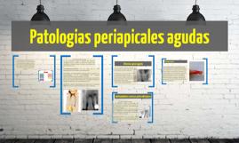 Patologias periapicales agudas