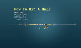 How To Hit A Ball