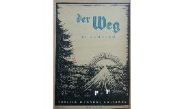 DER WEG - EL SENDERO