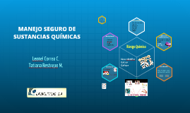 MANEJO SEGURO DE SUSTANCIAS QUIMICAS
