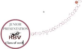 RBV Junior PRESENTATION 2015-16