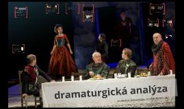 dramaturgická analýza