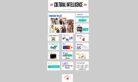 Copy of CULTURAL INTELLIGENCE