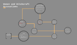 Women and Witchcraft Accusations