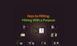 Keys to Hitting