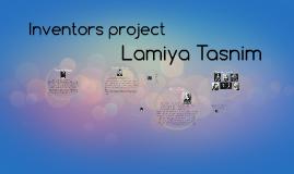 Inventors Project Lamiya Tasnim