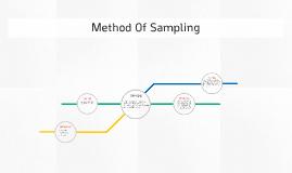 Method Of Sampling