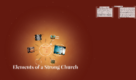 Elements of a strong Church