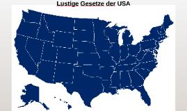 Lustige Gesetze der USA