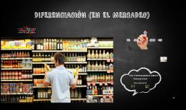 Diferenciación (mercadeo)