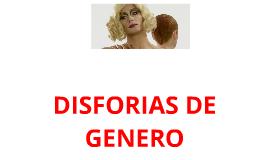 Copy of DISFORIAS DE GENERO
