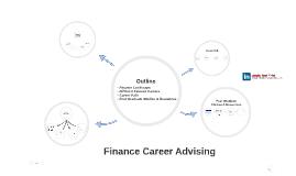 Finance Career Advising