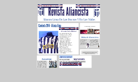 Copy of Revista Aliancista