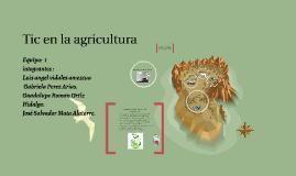 Copy of Tic en la agricultura