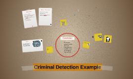 Criminal Detention Example