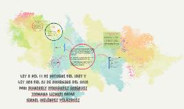 Copy of Ley 9 del 11 de octubre del 1987 y la Ley 254 del 31 de diciembre de 2015