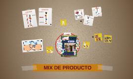 MIX DE PRODUCTO