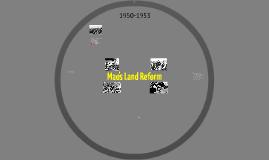 Peasant Land Reform