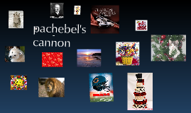 Pachabels cannon in d