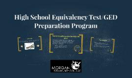 High School Equivalency Test/ GED Preparation Program