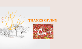 Copy of THANKS GIVING