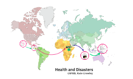 Health and Disasters