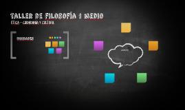 taller de filosofía 1 medio