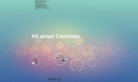 Copy of All about Castleton
