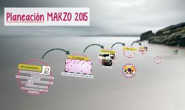 Planeación MARZO 2015