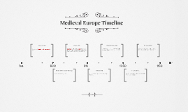 Medieval Europe Timeline