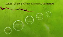 Copy of C.E.R. (Claim, Evidence, Reasoning)