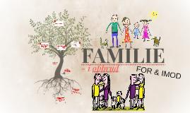 PROJEKT - FAMILIE I OPBRUD