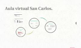 Aula virtual San Carlos.