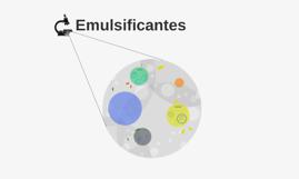 Emulsificantes