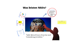 NGOs - Geographie