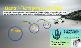 Thanksgiving and Gratitude