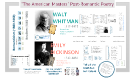 E3: Whitman and Dickinson