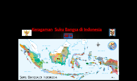 Keragaman  Suku Bangsa di Indonesia