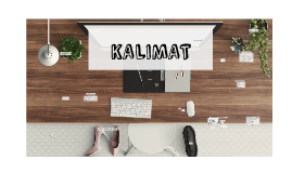 Copy of KALIMAT