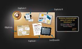 Sistema Automatizado para el Control de Inventario