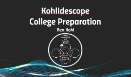 Academic and Financial College Preparation